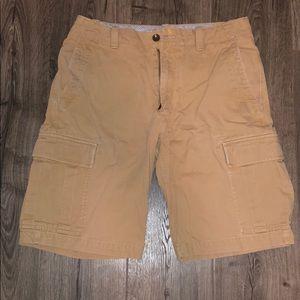 Men's banana republic khaki shorts